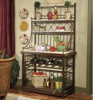 Estilo en muebles hierro forjado cocinas modernass - Muebles jardin hierro ...