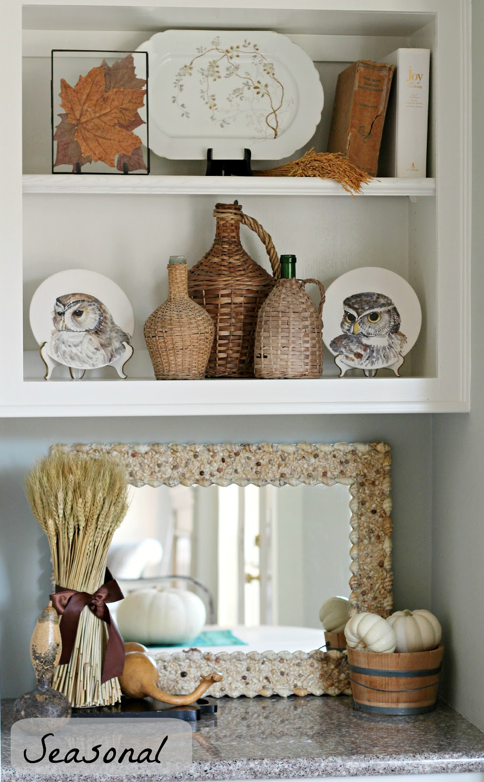 Curious Details: One Shelf Three Ways To Decorate