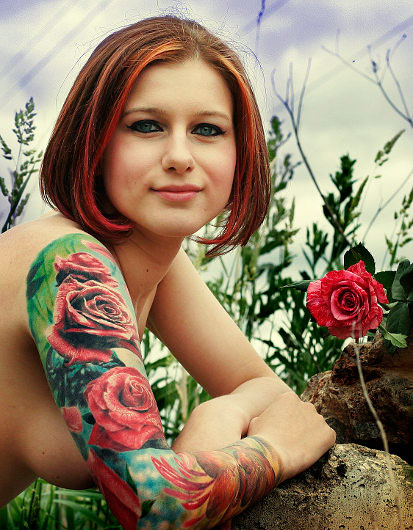 tattoos Beautiful girl