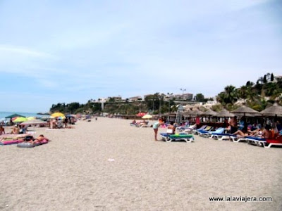 Playa Burriana, Nerja, Costa Sol