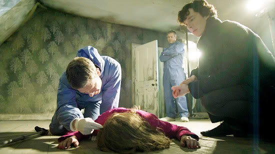Sherlock S1 Ep0 - 1 Unaired Pilot - A Study in Pink - 1 ...