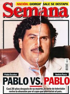 Pablo Escobar es Andrés Parra