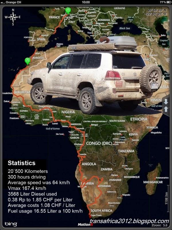 Transafrika Reise im 4x4 - purer offroad fahrspass