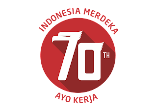 Logo HUT RI ke 70 Vector (Tahun 2015) download free
