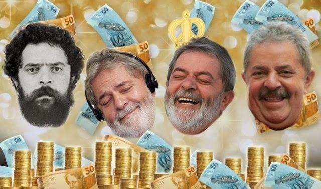 De onde vem o dinheiro que paga as contas de Lula?