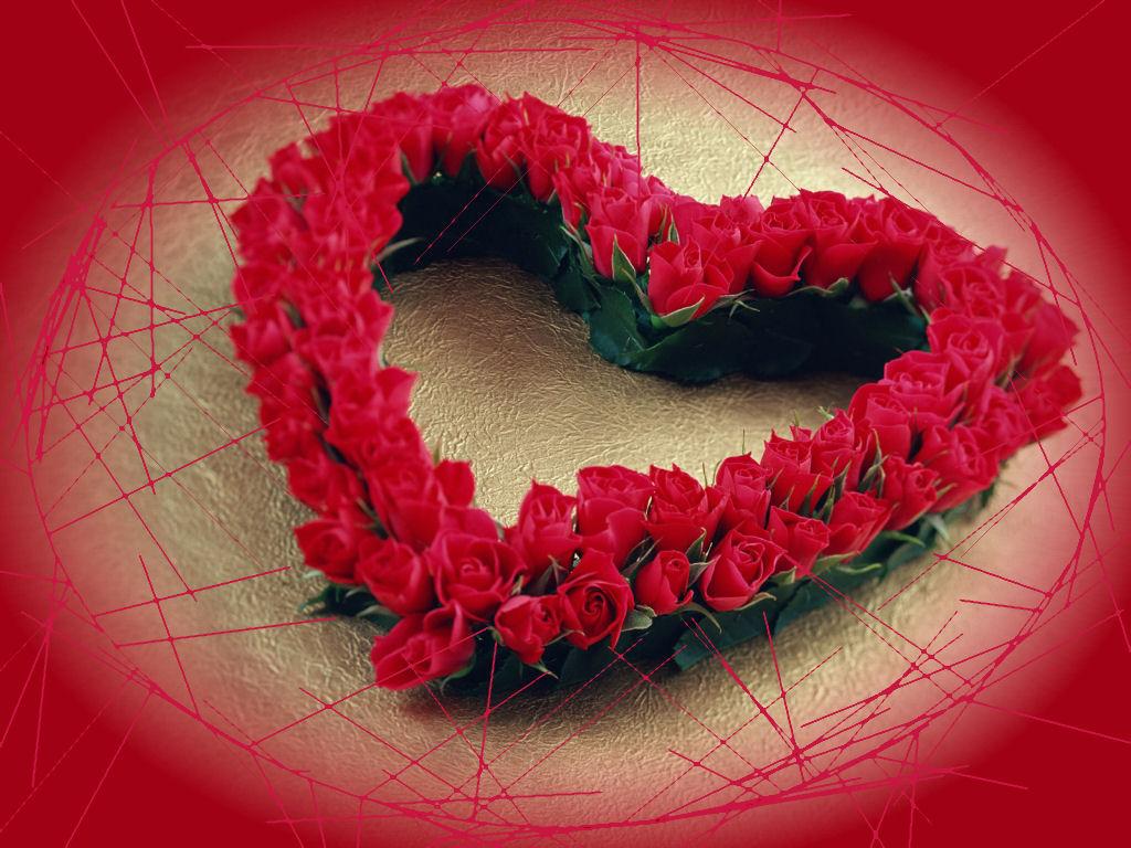 imagenes de corazones con rosas - Vatoz.atozdevelopment.co