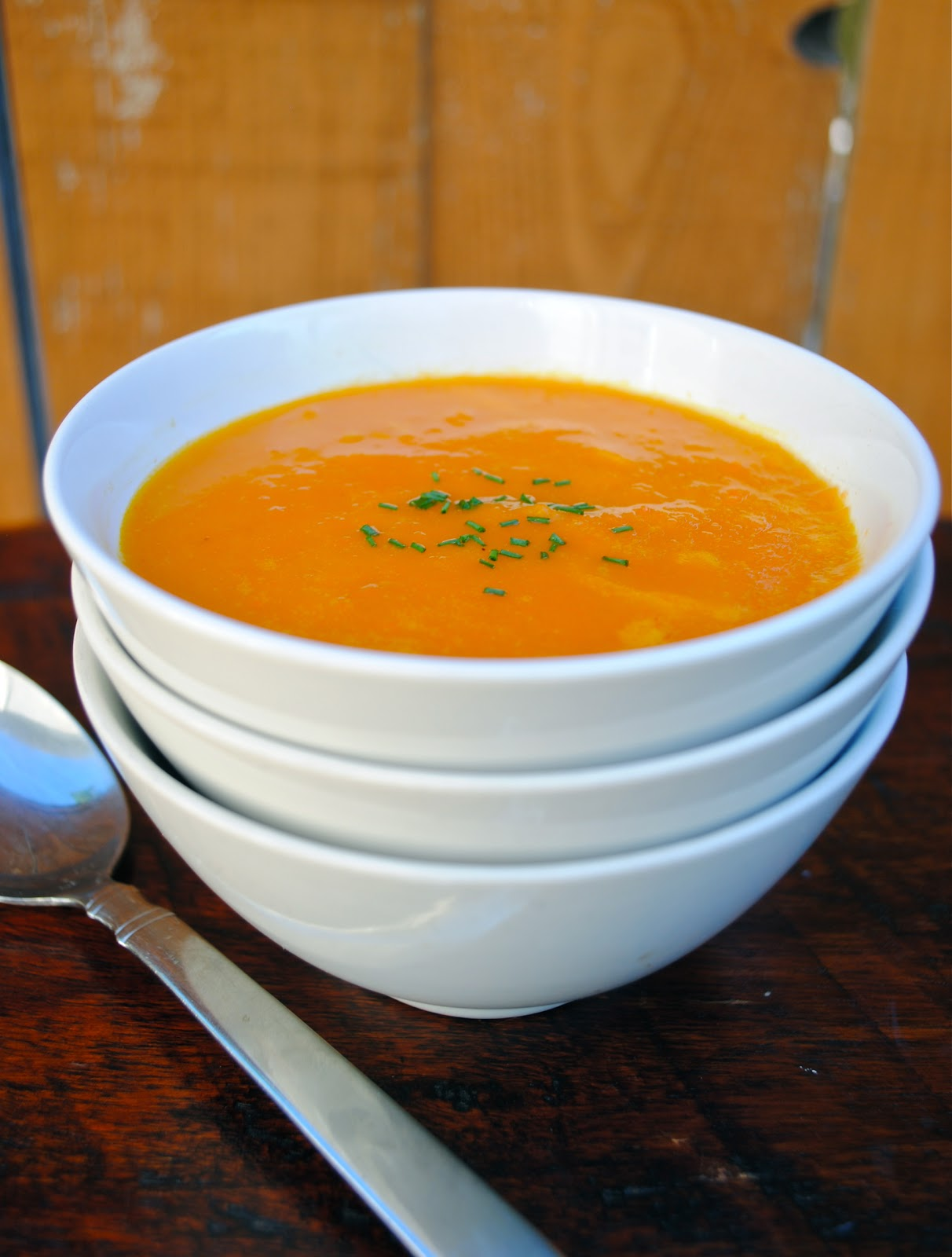 ... Soup | Virtually Homemade: The Silver Palate's Carrot and Orange Soup