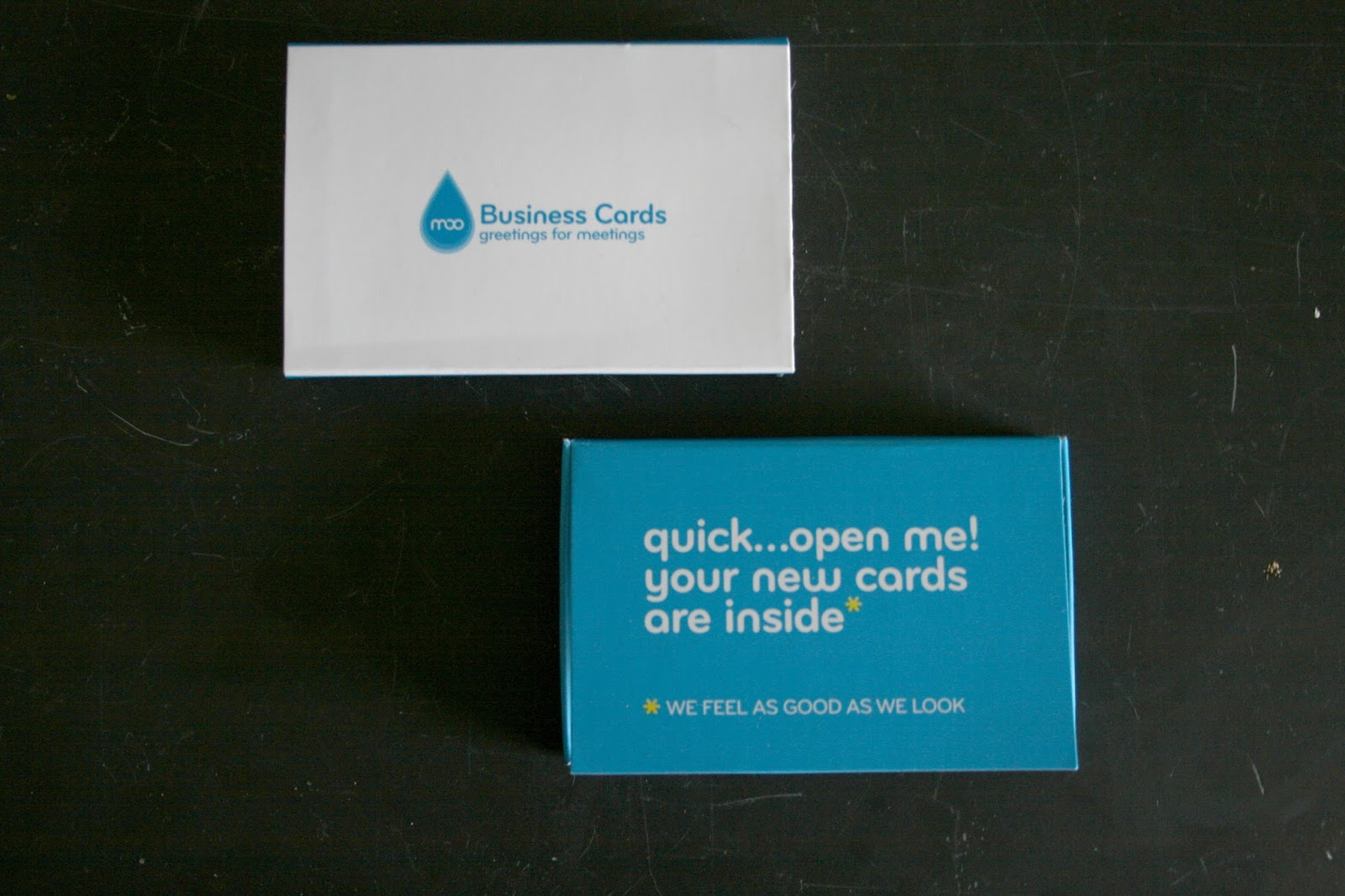 Test Drive // MOO.com Business Cards - GAV + RO
