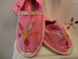 Zapatillas Flor Colores