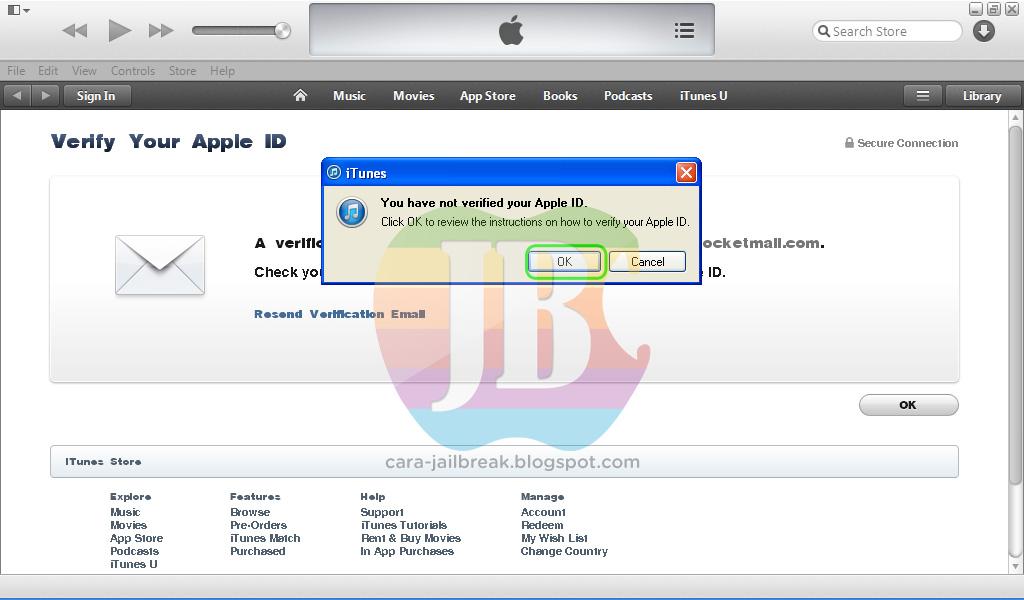 cara membuat id apple di hp verifikasikan alamat email