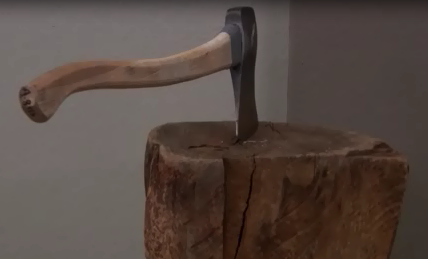 wood chopping dwight schrute gym for muscles