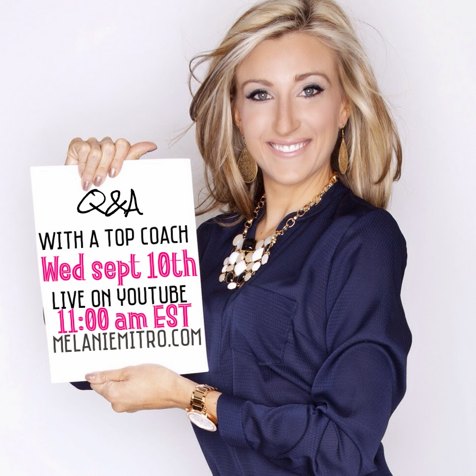 Live Q&A with A Top Beachbody Coach, Ask Questions, Get Answers, Melanie Mitro, Pittsburgh Coach, Elite coach, top 10