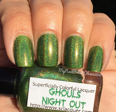 Superficially Colorful Ghouls Night Out
