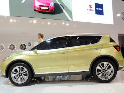 Suzuki S-cross Concept Calon Pengganti Sx4 [ www.BlogApaAja.com ]