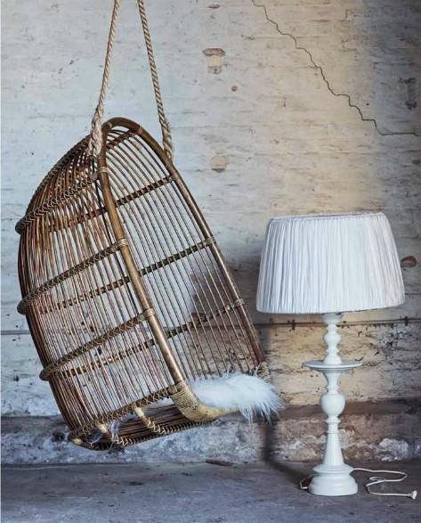 A classic is back le fauteuil en rotin - Fauteuil osier suspendu ...