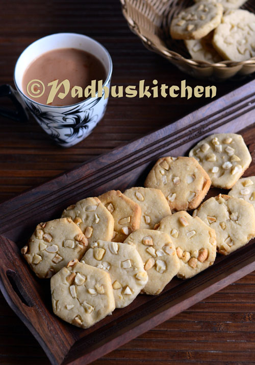 Cashew nut Biscuits-Cashew nut Cookies