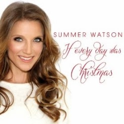 """If Every Day Was Christmas"" Candycane's favorite brand new Christmas song by British opera singer Summer Watson"