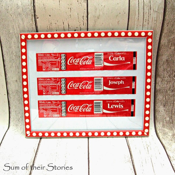 Share a Coke With label picture