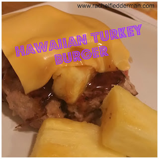 Hawaiian Turkey Burger