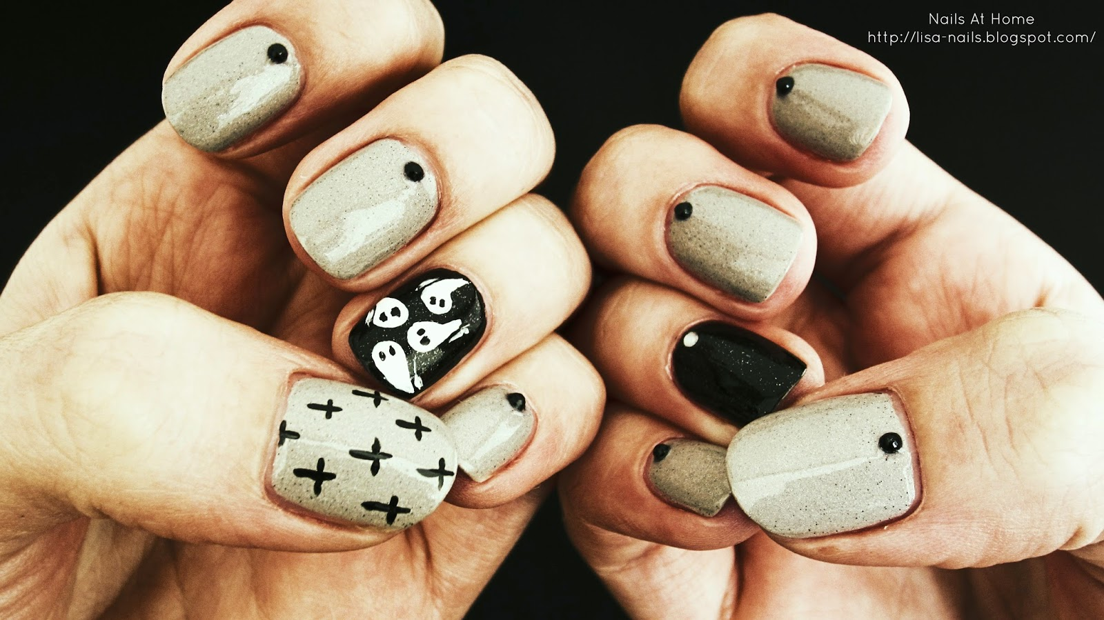 Halloween Nails | Hunt Me At Dawn