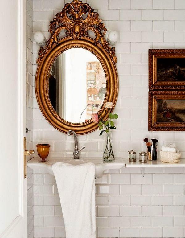 decorar o lavabo : decorar o lavabo:Como decorar o lavabo – Gosto Disto!