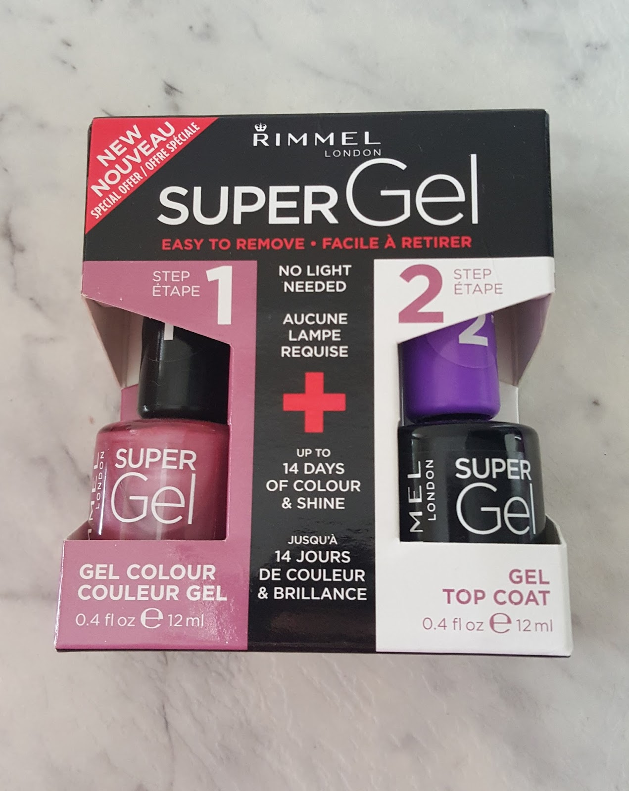 Beautifully Glossy: Rimmel Super Gel Nail Polish