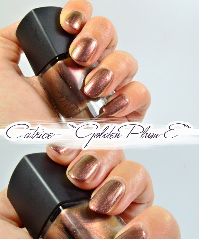 Catrice Feathered Fall LE Luxury Lacquer GOLDEN PLUM-E