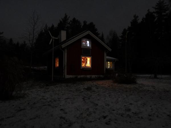 Simple living ist nicht unbedingt einfach 2011 12 for Lampen zur scheune