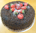 Kek Chocolate Moist