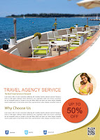 Travel Agency Flayer Template