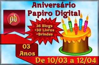 PROMOÇÃO: Aniversário do Papiro Digital!