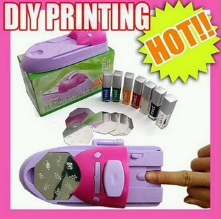 IVA BERNADETTE SHOP: NAIL ART PRINTING MACHINE