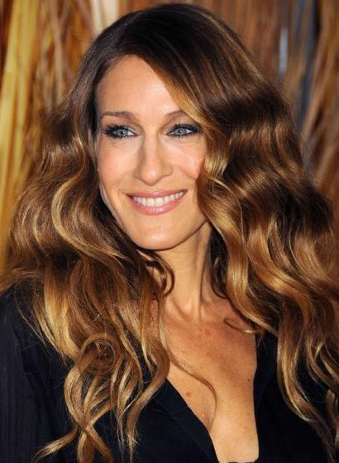 Moda cabellos mechas rubias en el cabello oscuro 2015 for Imagenes de mechas