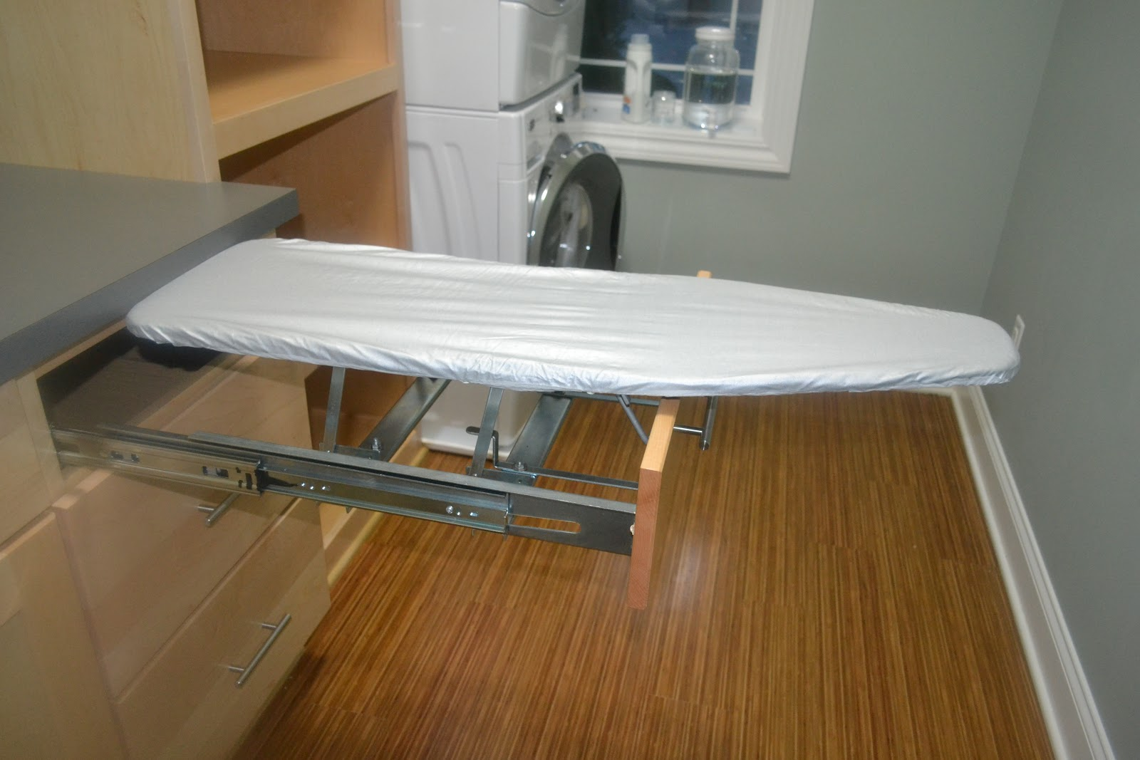 Fold up ironing board - For A Variety Of Reasons The Board Has Been Sitting In Our Laundry Room For The Last Three Months I Think It S Safe To Say We Could Have Saved Ourselves A