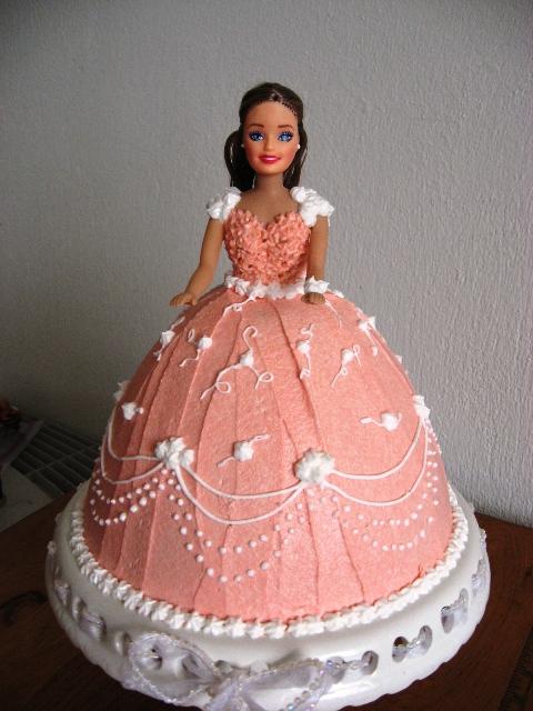 Cake Images Of Barbie : Disney Barbie Princess Cakes Decoration Ideas Food and Drink
