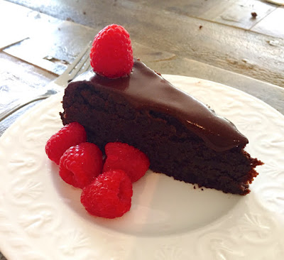 Healthy Chocolate Bean Cake