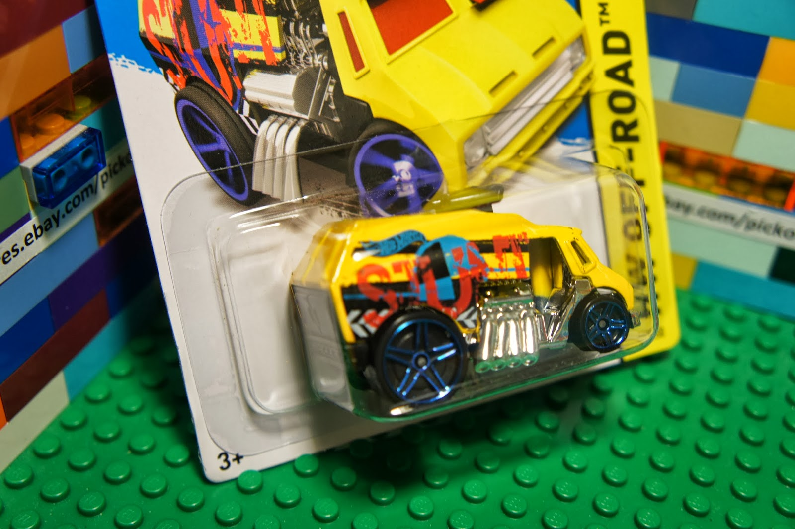 hot wheels yellow cool one concept diecast hw off road. Black Bedroom Furniture Sets. Home Design Ideas