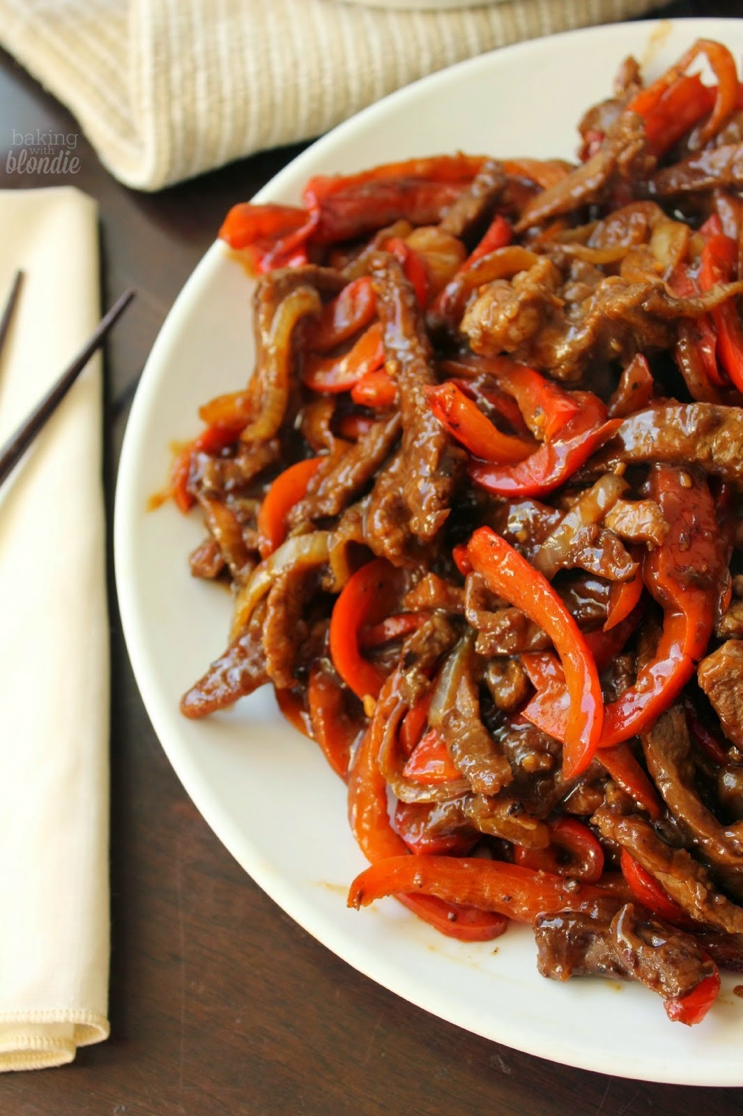 Steak and Pepper Stir Fry