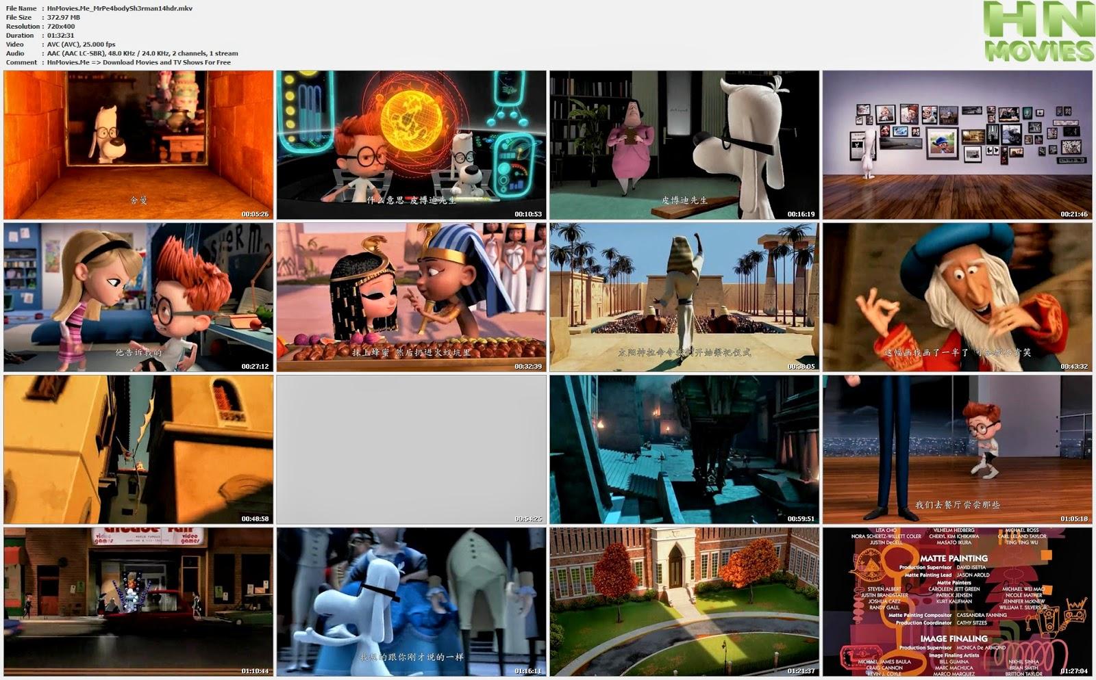 Mr. Peabody & Sherman (2014) R6 HDRip 375MB