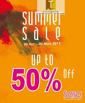 SaSa Summer Sale