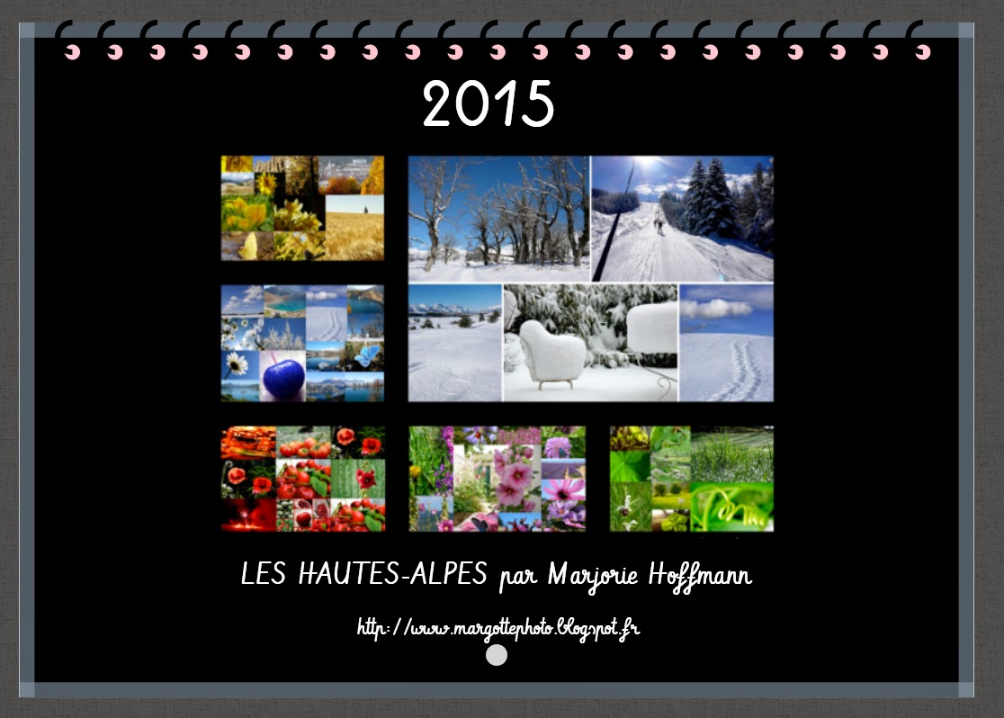 Margotte photo for Calendrier mural 2015