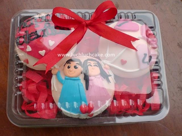 cupcake romantis valentine