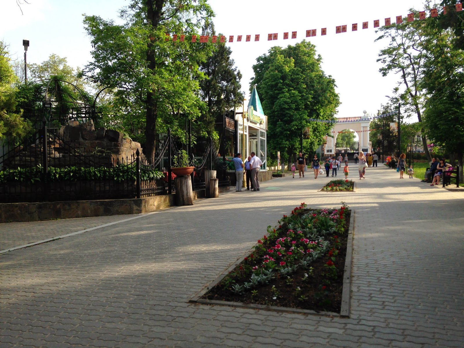 Парк-Горького-Таганрог-Аллея