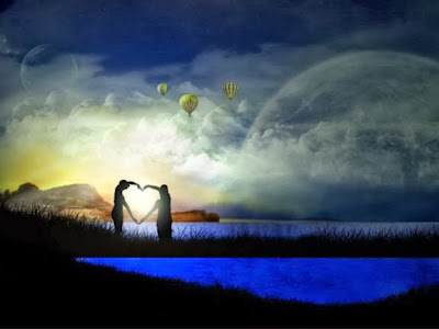 Tepi Danau Romantis