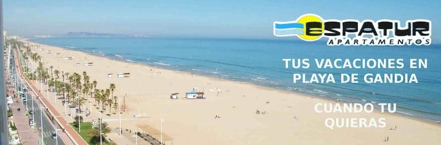 ESPATUR Apartamentos - Alquiler de Apartamentos en Playa de Gandia