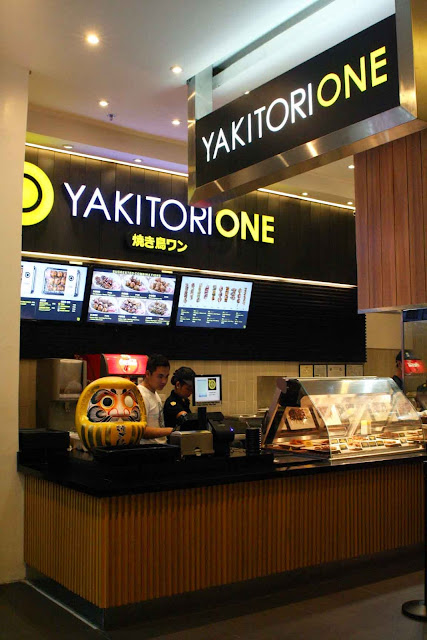 Yakitori One at SM Aura Premier counter