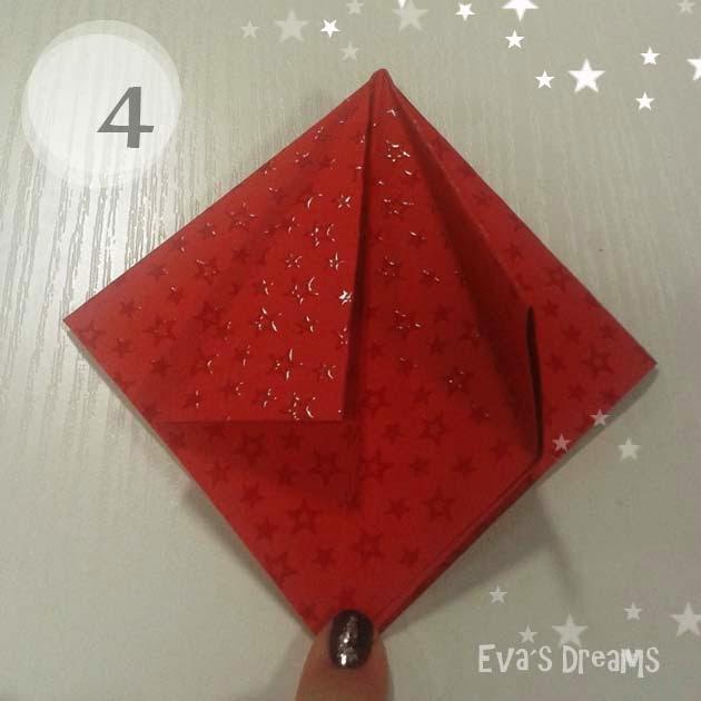 DIY: Origami Tannbaum 2.0 - Step4
