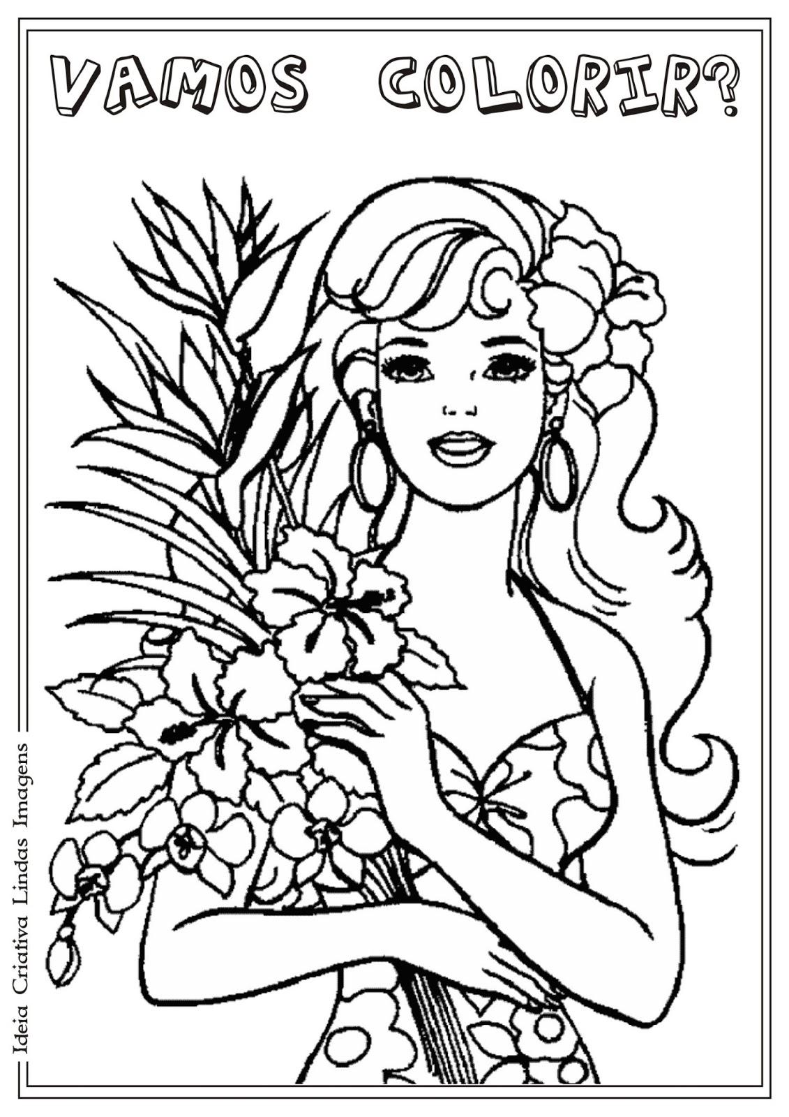 desenho de dia da mulher para colorir riscos para colorir gratis