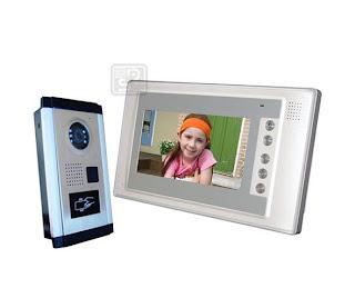 SY-803+D9ID-white 1/1 - комплект видео домофона с RFID (1 монитор)