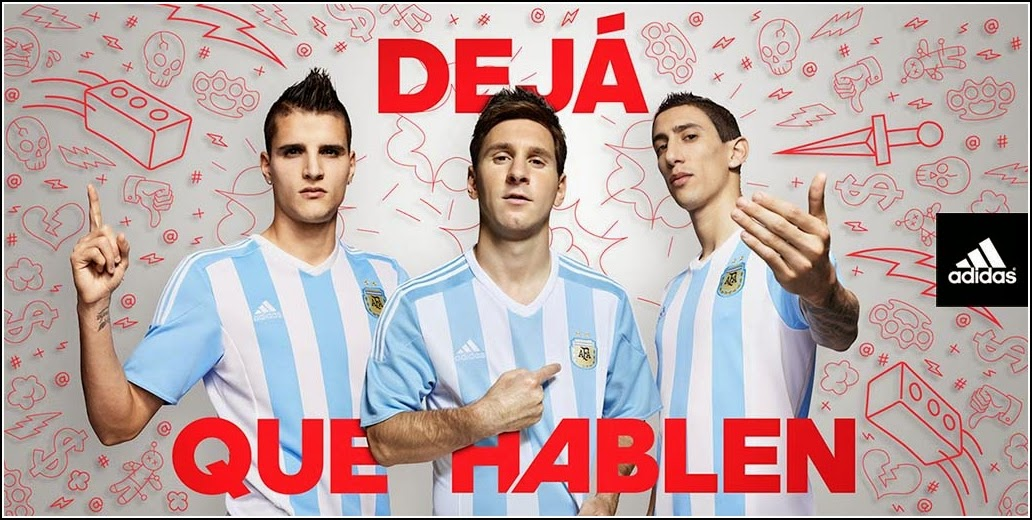 Jersey Bola Argentina Home 2016